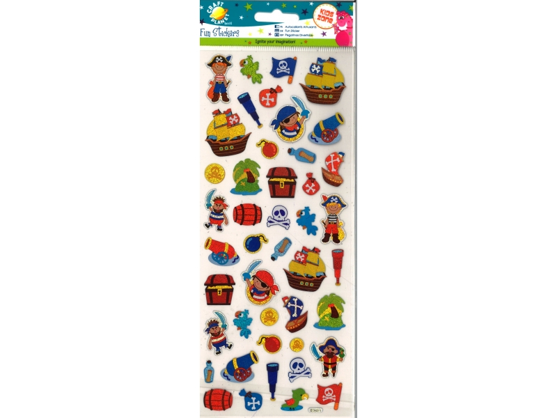 Craft Planet - Fun Stickers Pirates