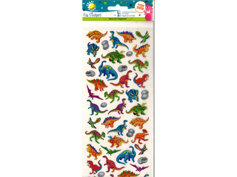 Craft Planet - Fun Stickers Dinosaurs