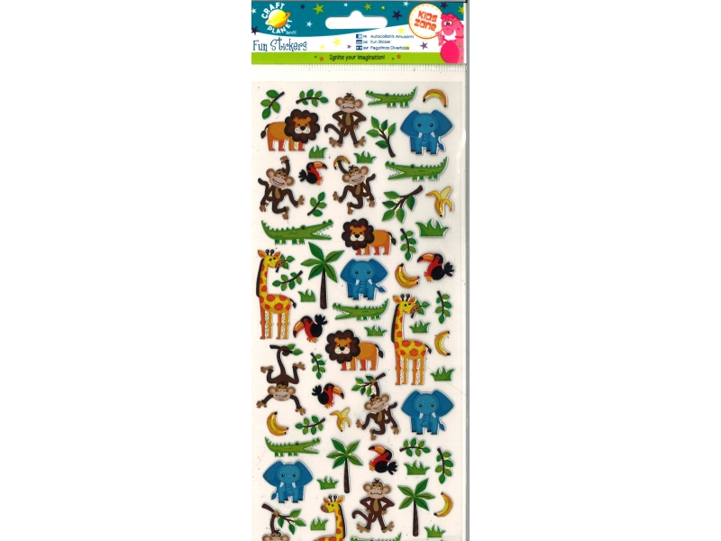 Craft Planet - Fun Stickers In The Zoo