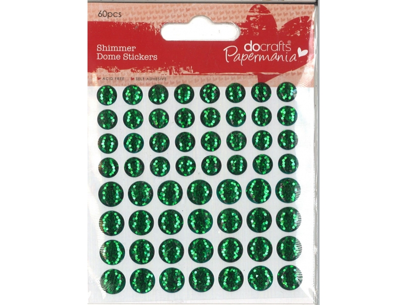 Shimmer Dome Green 60 Pieces