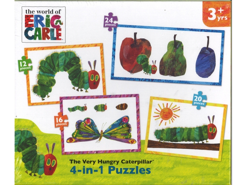 The Very Hungry Caterpillar 4-in-1 Puzzles - Jigsaw