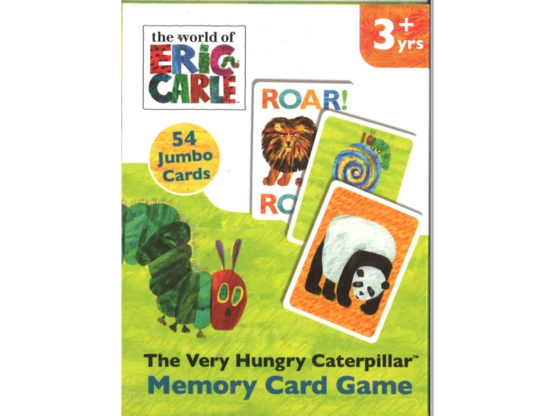 The Very Hungry Caterpillar - Memory Card Game