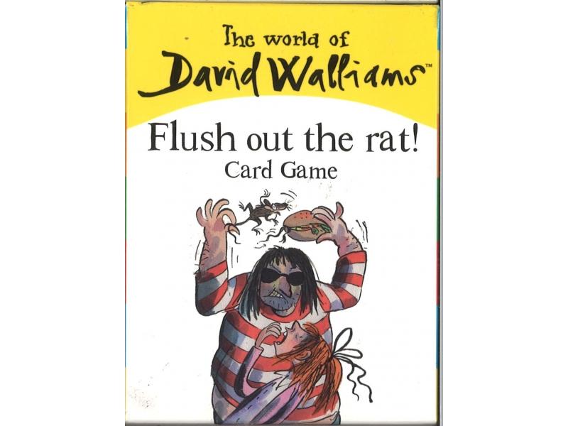 David Walliams - Flush Out The Rat Card Game