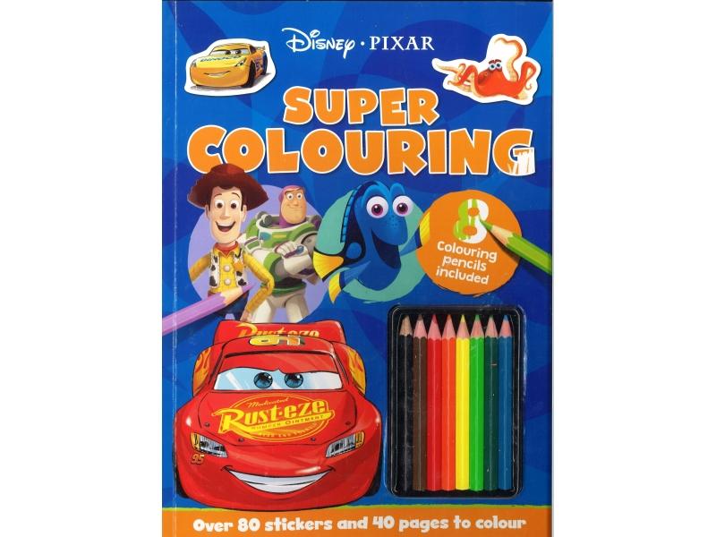 Disney Pixar - Super Colouring Book