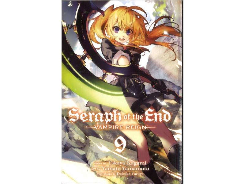 Seraph Of The End - Vampire Reign 9 - Takaya Kagami