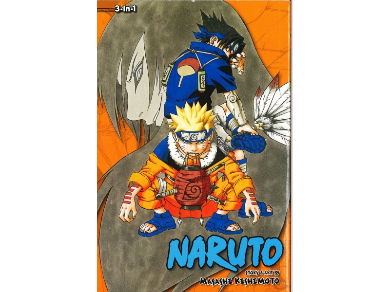 Naruto 3-in-1 Volumes 7-8-9 - Masashi Kishimoto