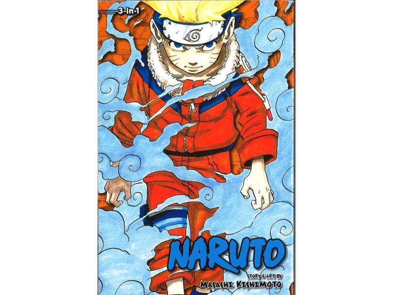Naruto 3-in-1 Volumes 1-2-3 - Masashi Kishimoto