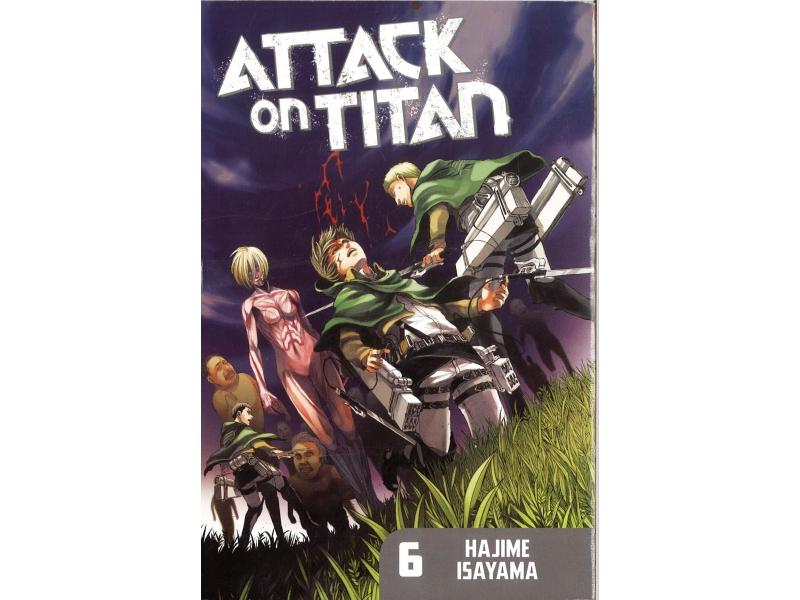 Attack On Titan 6 - Hajime Isayama