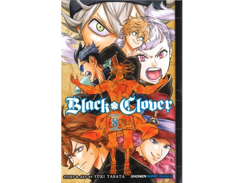 Black Clover 8 - Yuki Tabata