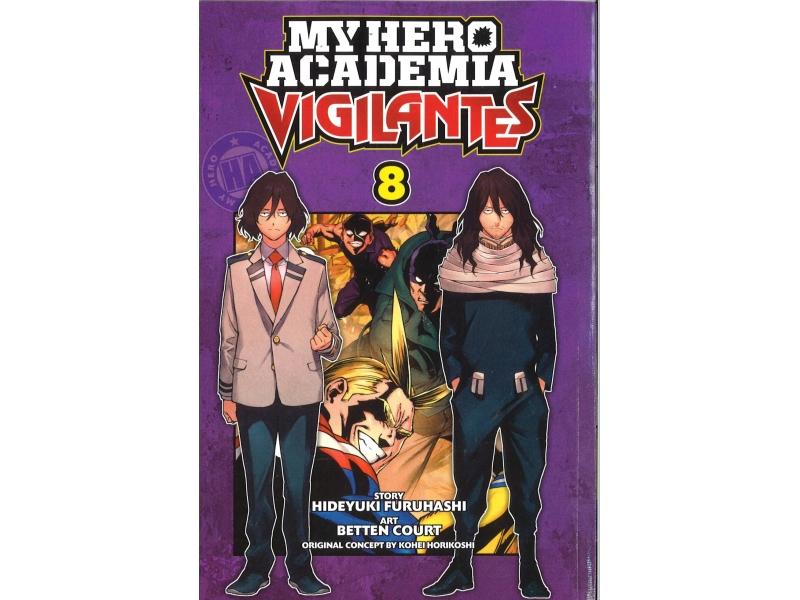 My Hero Academia Vigilantes 8 - Kohei Horikoshi