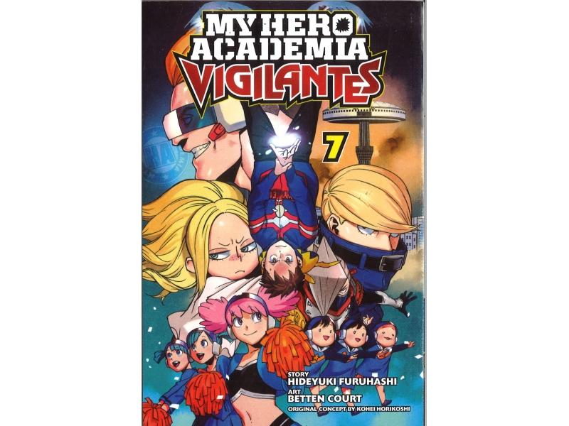 My Hero Academia Vigilantes 7 - Kohei Horikoshi