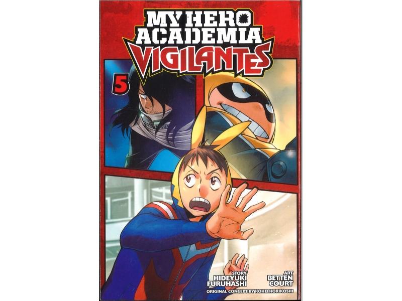 My Hero Academia Vigilantes 5 - Kohei Horikoshi