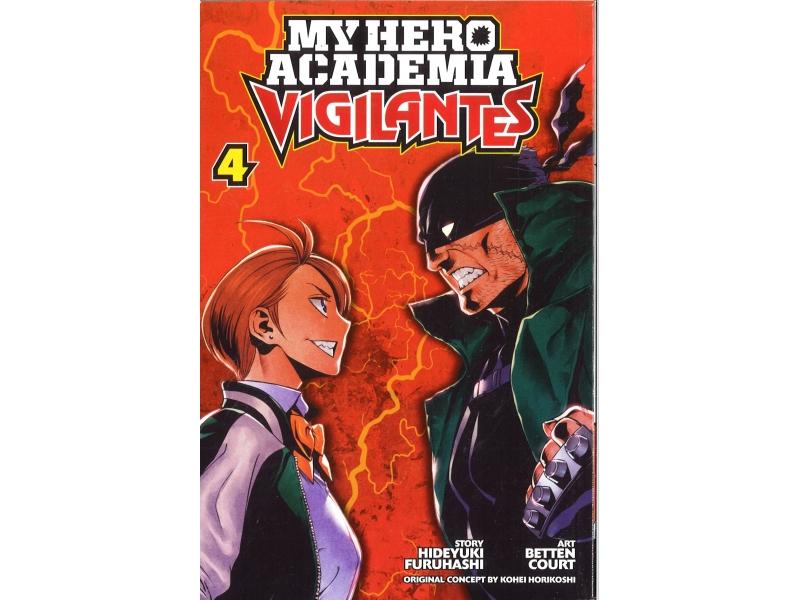 My Hero Academia Vigilantes 4 - Kohei Horikoshi