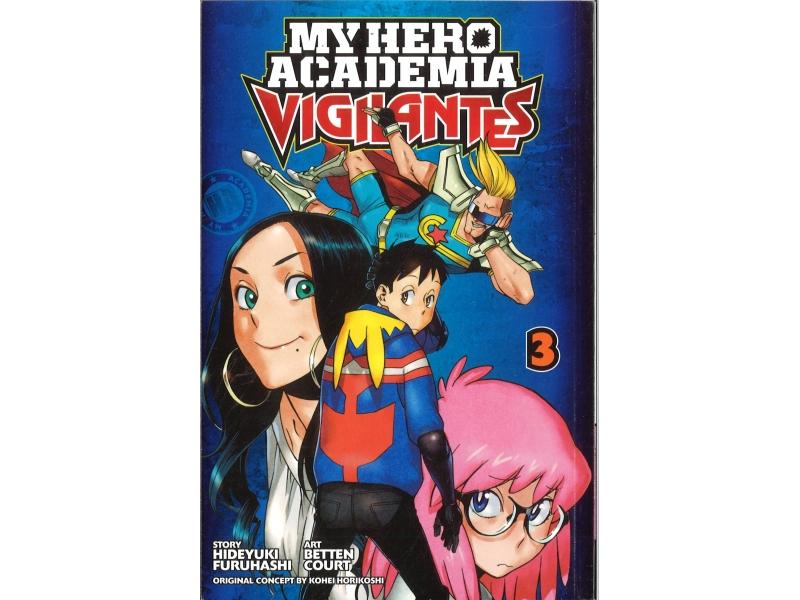 My Hero Academia Vigilantes 3 - Kohei Horikoshi