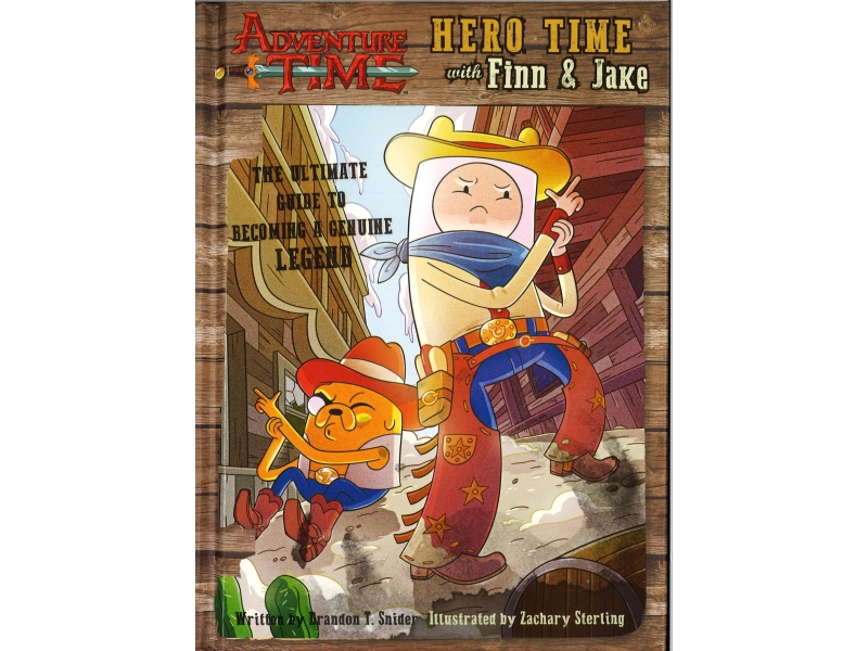 Adventure Time - Hero Time With Finn & Jake
