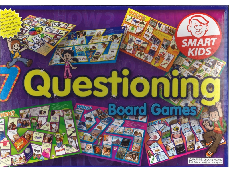 7 Questioning Board Games - Smart Kids