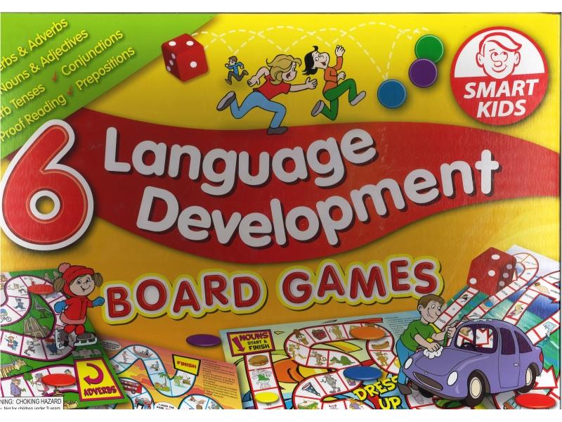 6 Language Developement Board Game - Smart Kids