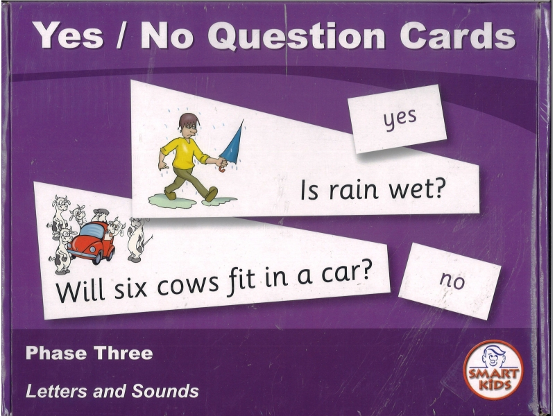 Yes / No Question Cards - Smart Kids