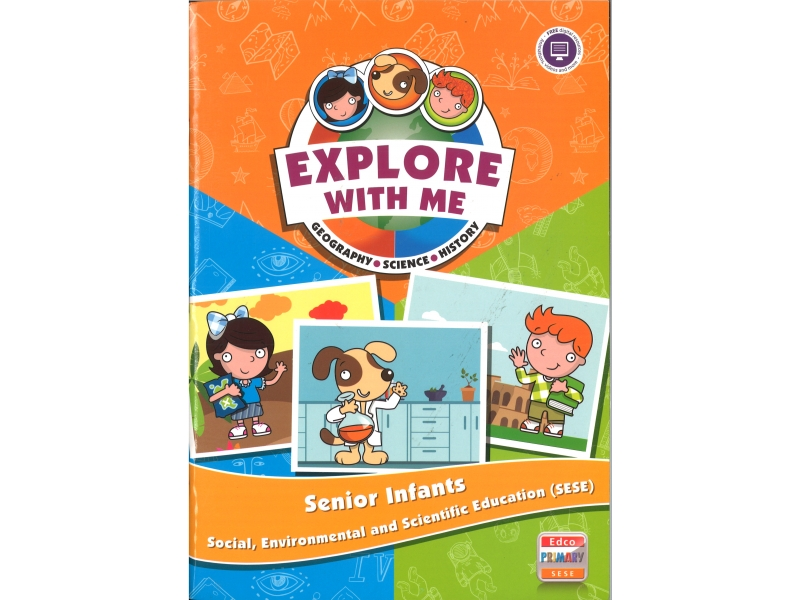 Explore With Me SESE Pack - Senior Infants