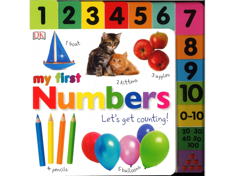 My First Numbers - Let's Get Counting !