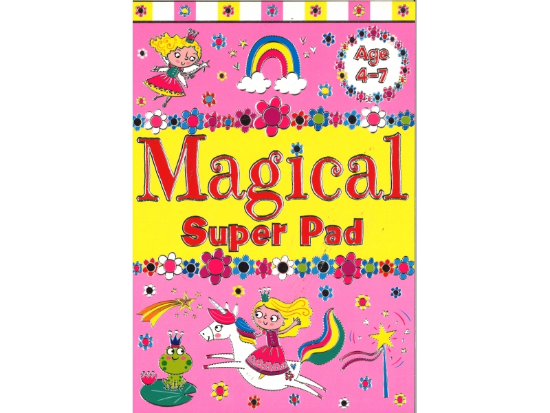 Magical Super Pad - Colouring Book