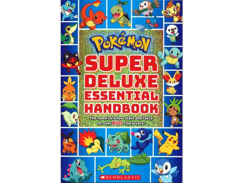 Pokemon - Super Deluxe Essential Handbook