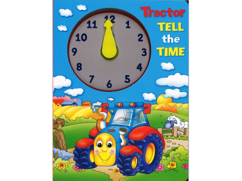 Tractor Tell The Time - Brown Watson