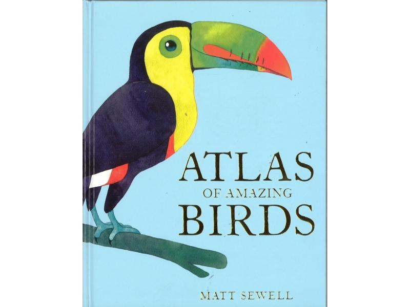 Matt Sewell - Atlas Of Amazing Birds