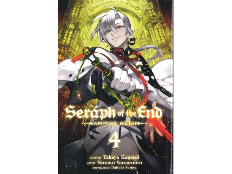 Seraph Of The End - Vampire Reign 4 - Takaya Kagami
