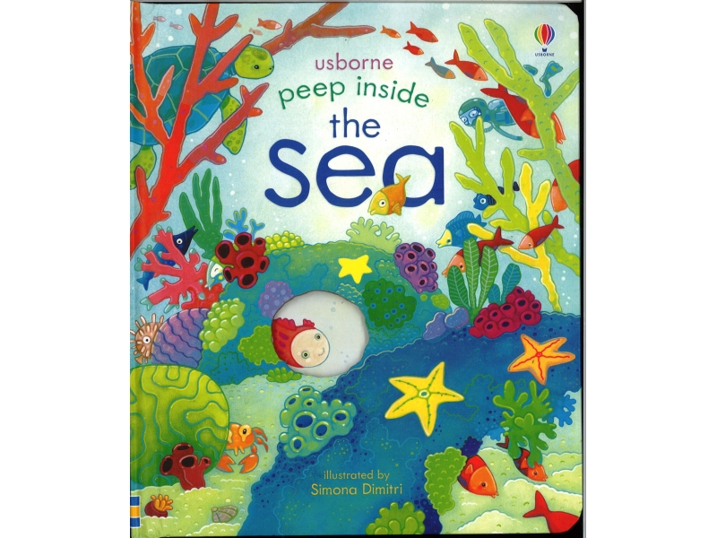 Usborne - Peep Inside The Sea