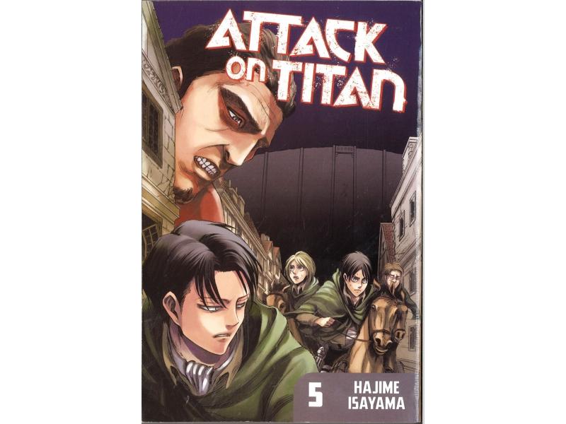 Attack On Titan 5 - Hajime Isayama