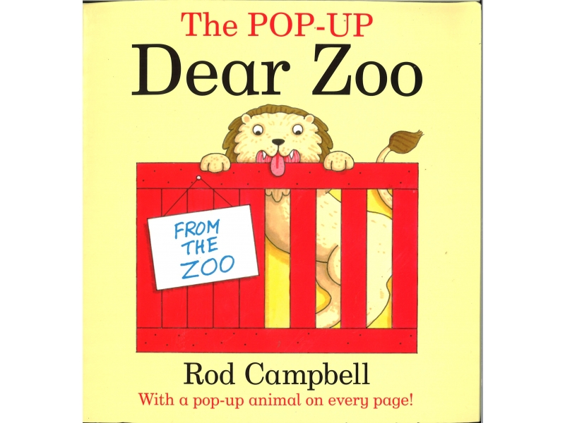 Rod Campbell - The Pop-Up Dear Zoo