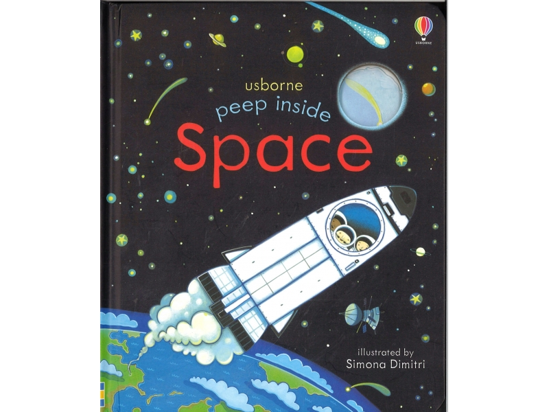 Usborne - Peep Inside Space