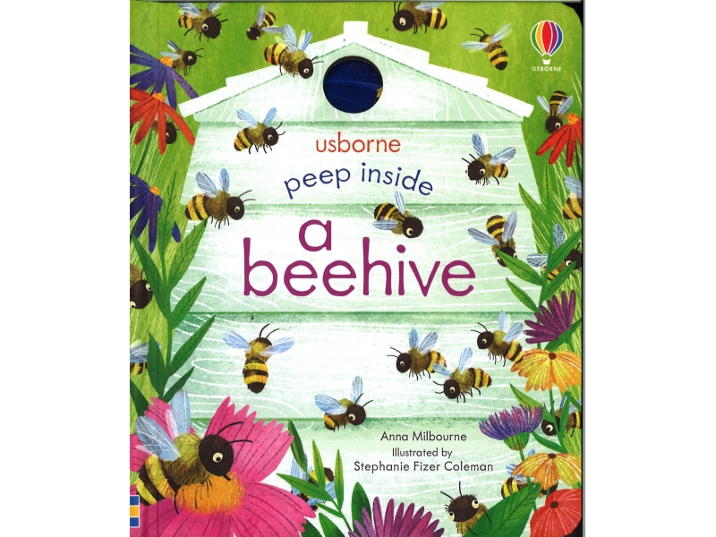 Usborne - Peep Inside A Beehive