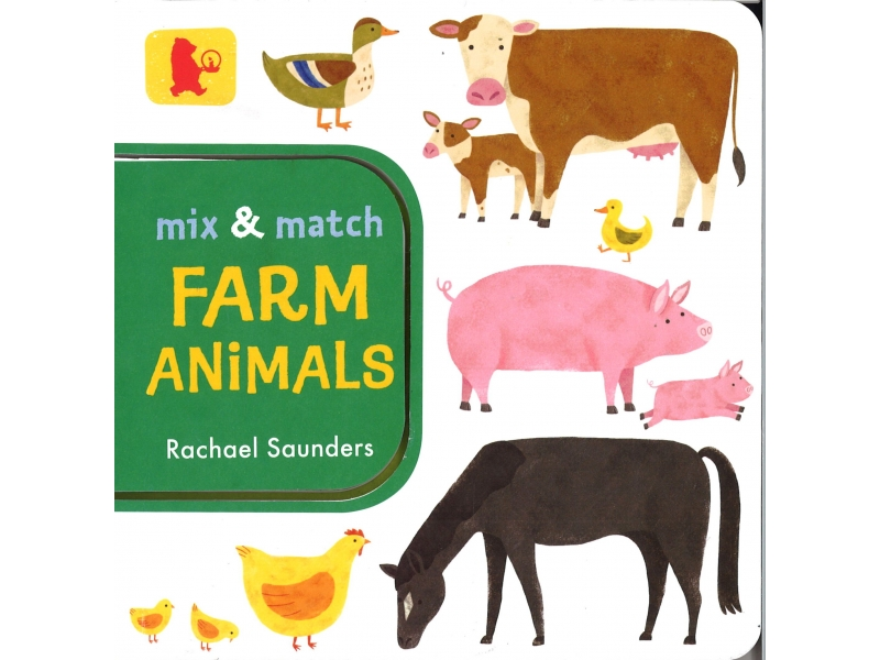 Rachael Saunders - Mix And Match Farm Animals