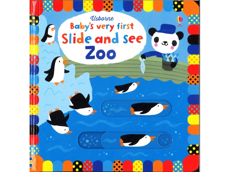 Usborne - Baby's Very First Slide And See Zoo