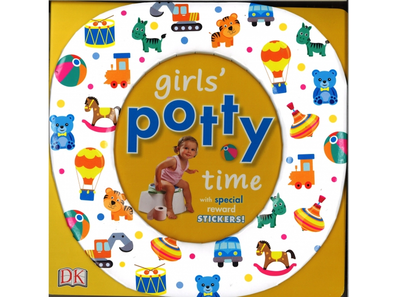 Girl's Potty Time