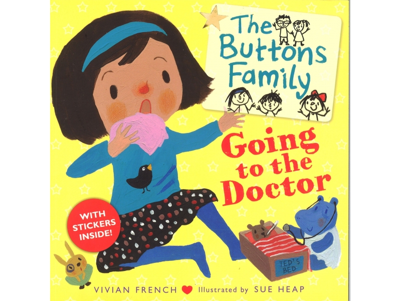 Vivian French & Sue Heap - The Buttons Family - Going To The Doctor