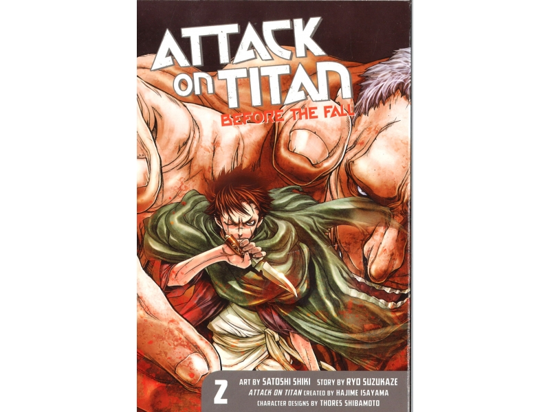 Attack On Titan Before The Fall 2 - Hajime Isayama