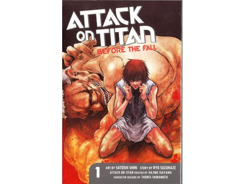 Attack On Titan Before The Fall 1 - Hajime Isayama