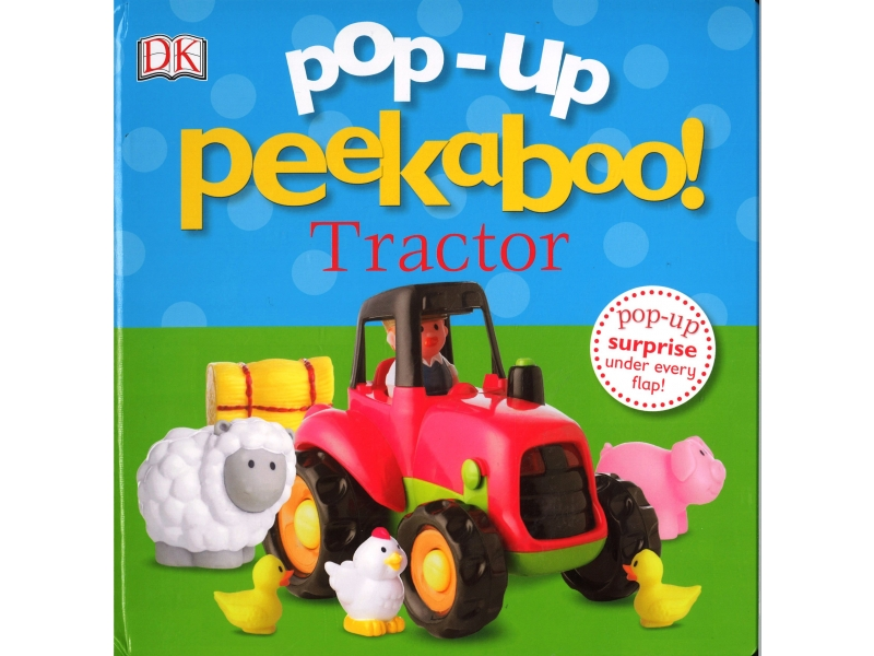 Pop-Up Peekaboo ! Tractor