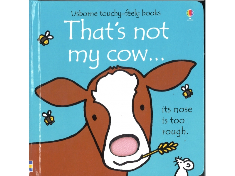 Usborne Touchy-Feely Books - That's Not My Cow