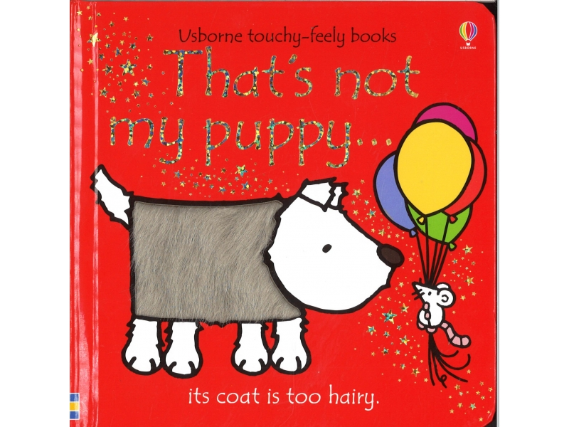 Usborne Touchy-Feely Books - That's Not My Puppy