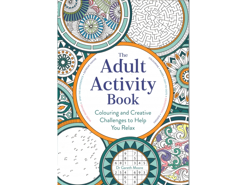 Dr Gareth Moore - The Adult Activity Book