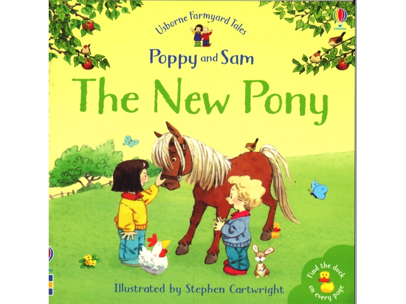 Poppy And Sam - The New Pony