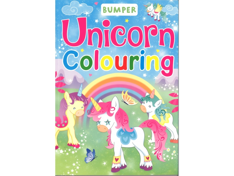 Bumper - Unicorn Colouring