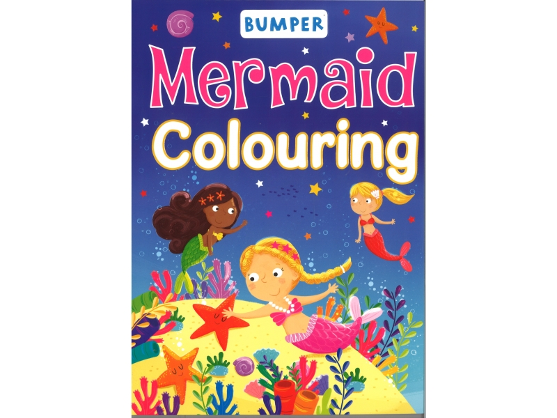 Bumper - Mermaid Colouring