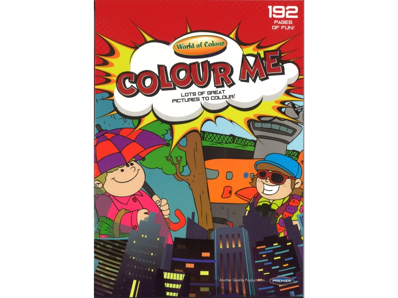 World Of Colour - Colour Me 192 Pages