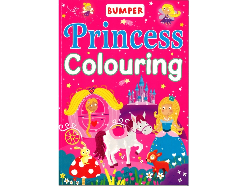 Bumper - Princess Colouring