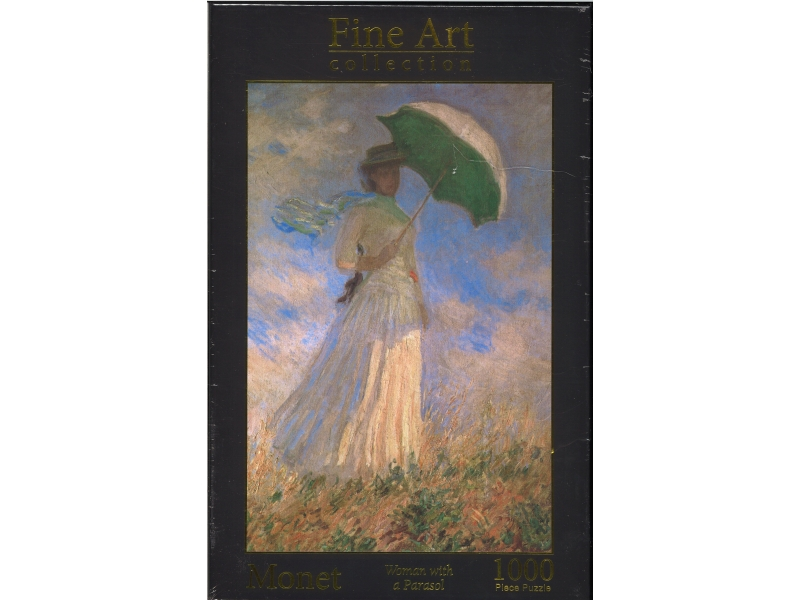 Monet - Woman With A Parasol - 1000 Piece Jigsaw